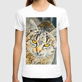 Cat Painting T-shirt
