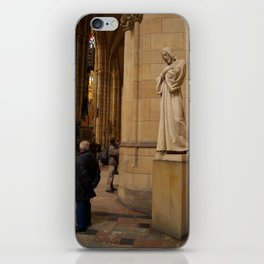 Statue of Christ in St Vitus Cathedral  iPhone Skin