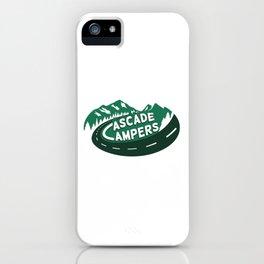 Cascade Campers Logo iPhone Case