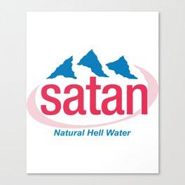 Natural Hell Water Canvas Print