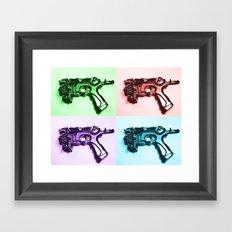 Ray Gun A Framed Art Print