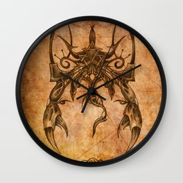Zodiac:  Scorpio Wall Clock