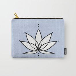 Imperfect Lotus with Background Carry-All Pouch