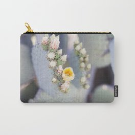 Yellow Desert Blooms Carry-All Pouch