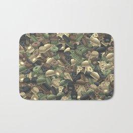 Fast food camouflage Bath Mat