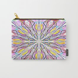Stain Glass Kaleidoscope Carry-All Pouch