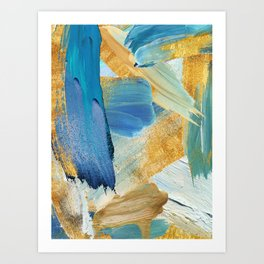 Easterly Abstract Art Print