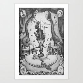Circus. 2014 Art Print
