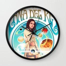 lana del ray la to the moon 2021 Wall Clock