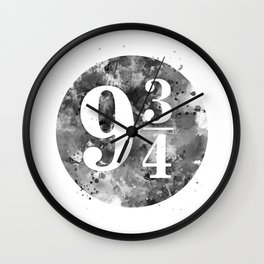 9 3 4 Wall Clock