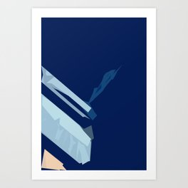 Downtown Blues Art Print