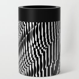 Op Art #1 Can Cooler