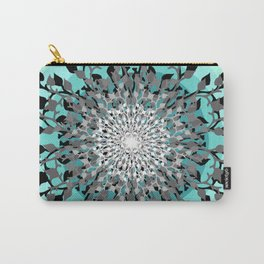 Iris Branches Carry-All Pouch