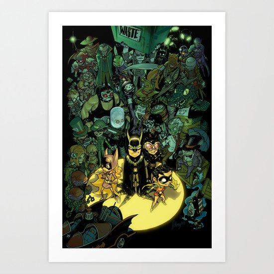 Lil' Bats Art Print