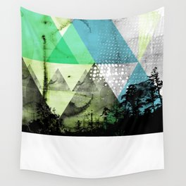 Abstract Geometry V3  Wall Tapestry