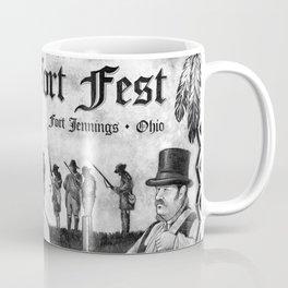 Fort Fest Illustration Coffee Mug
