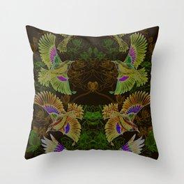 The Birdy Bird Throw Pillow