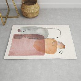 Modern Abstract Art IX Rug
