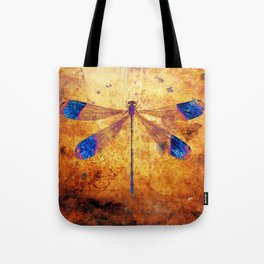 Dragonfly in Amber Tote Bag