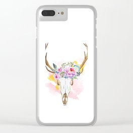 Animal Skull 02 Clear iPhone Case