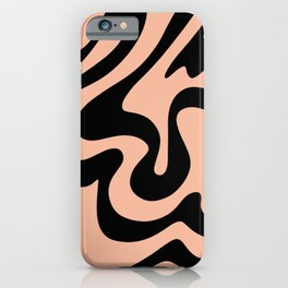 Simple Liquid Shapes iPhone Case