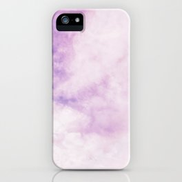 Fuchsia Cloud // Colorful Sunset Pink and Purple Fluffy Ocean Sky Photography Beach Vibes iPhone Case