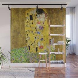 The Kiss, Gustav Klimt Wall Mural