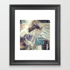 I've Been There Framed Art Print