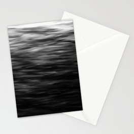 B&W Waves2 Stationery Cards