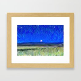 Mongolia Plains  Meadow Framed Art Print