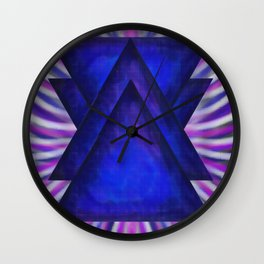 syncronicity Wall Clock
