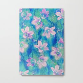 Bellflowers Metal Print