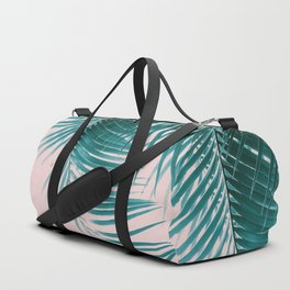 Palm Leaves Summer Vibes #1 #tropical #decor #art #society6 Duffle Bag