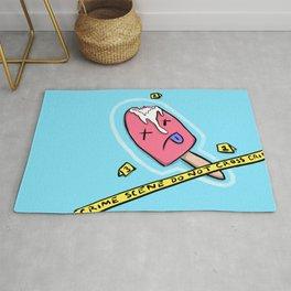 Popsicle Crime Scene Rug