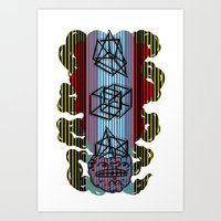 Impossible mind Art Print