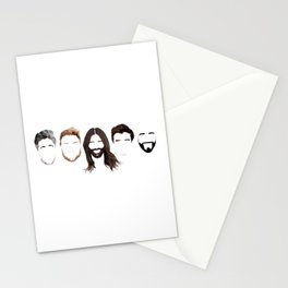 Queer Eye Fab 5 Faces Stationery Cards