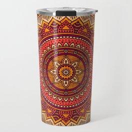 Hippie mandala 33 Travel Mug