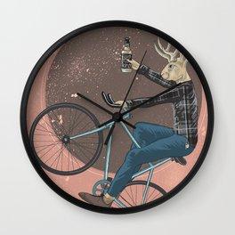 Jackalope Wall Clock