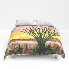 Beautiful Ocotillo 1 Comforters