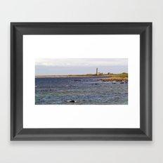 Start Point Lighthouse Framed Art Print