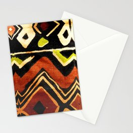 Africa Design Fabric Texture Stationery Cards