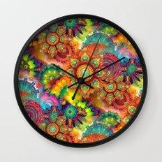 Gipsy Mandala's Wall Clock