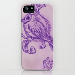 Voodoo feather iPhone Case