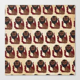 Manticore Pattern Canvas Print