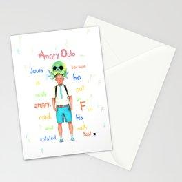 Angryocto - Joun's Math grade Stationery Cards