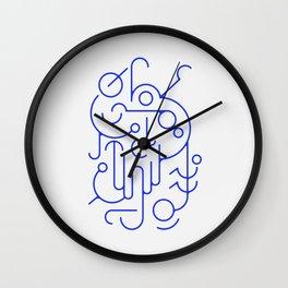 Lines 01 Wall Clock