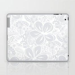 Maui Polynesian Silver Wedding Laptop & iPad Skin
