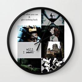 Slytherin Aesthetic Wall Clock