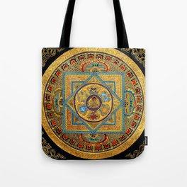 Buddhist Hindu Mandala 23 Tote Bag