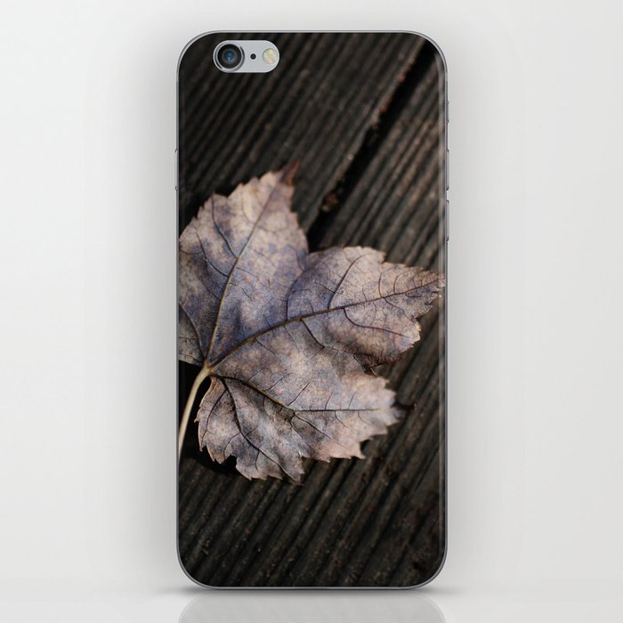the lifelines of fall iPhone Skin